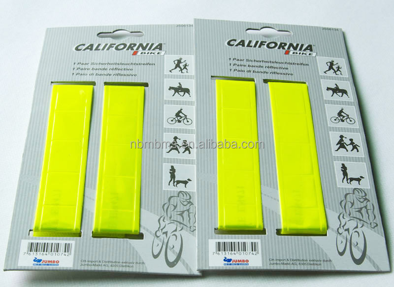 EN13356 / EN471 Standard Safe Protection Warning High Visibility Reflector Band