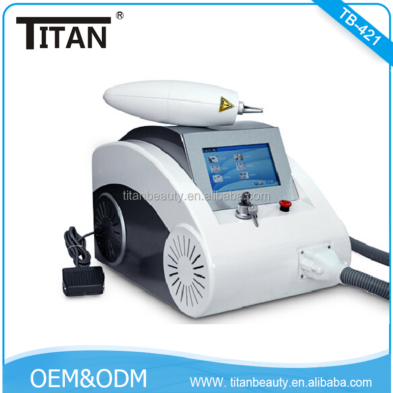 Titan Factory bottom rock price Q switch nd yag laser tattoo removal laser equipment