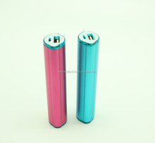 Mobile Phone Emergency Charger 2800mAh External Battery Stick Tube Mobile Power Bank