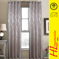 BSCI certification wholesale Finished Curtains kitchen curtain
