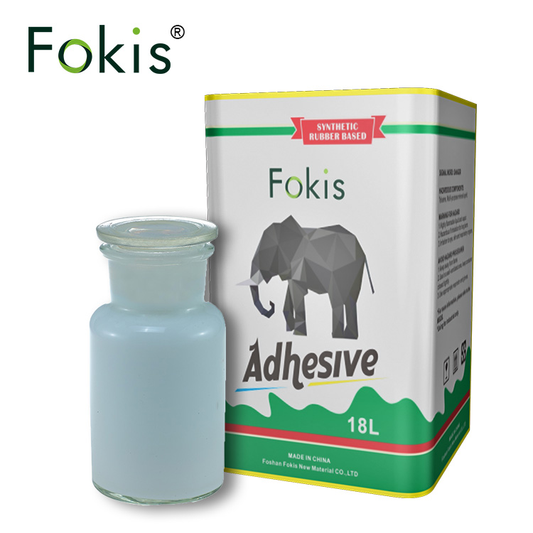 Fokis fabric glue guangzhou,acrylic pressurer sensitive adhesive,white glue