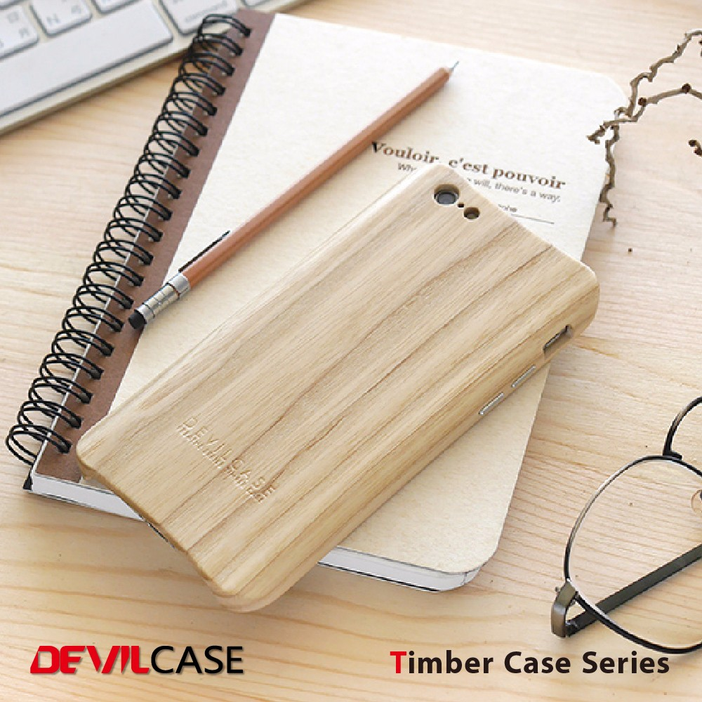 Eco-Friendly Timber Wood Cell Phone Case For iPhone 6