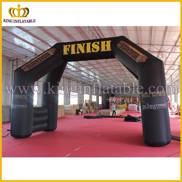 Fast Delivery Hot Sale Double Start Finish Line Inflatable Racing Arch