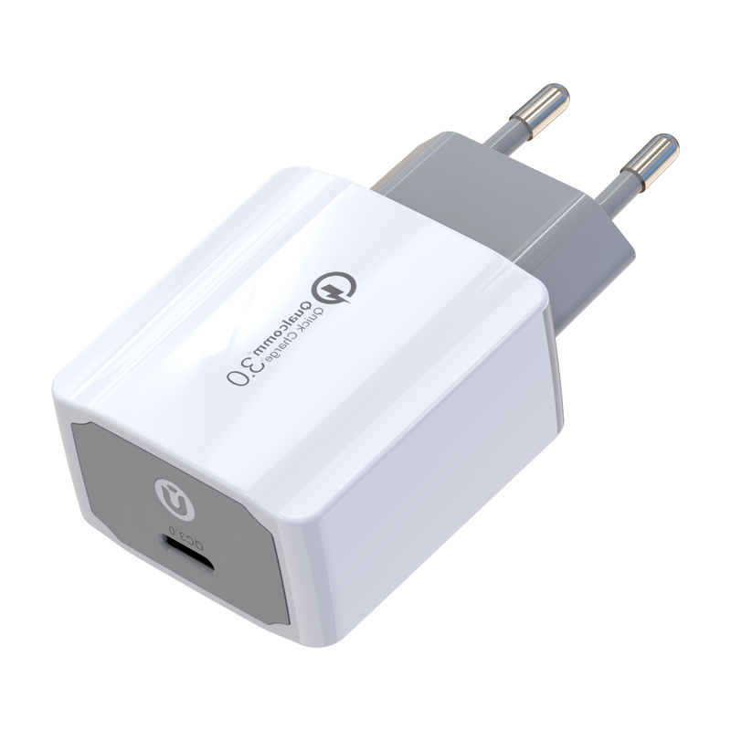 Phone Super Capacitor Portable Travel Charger Adapter,Type C qc3.0 Wall Charger