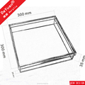 Acrylic Storage Box Wholesale / Candy Box With Sperate Lid