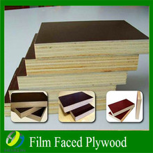 waterproof 15mm fillm faced plywood construction /one time hot press