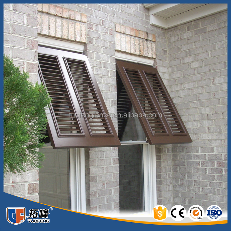 high quality factory manufacture Hot sale Residential stationary window louver