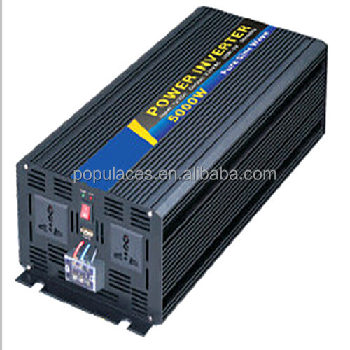 Energy star 220v dc 12v to ac power inverter 5000W for sales