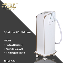 Factory Aesthetic Stationary Q-Switched Nd:Yag Laser New model Tattoo Removal Device Beauty Salon Use Ce Approved
