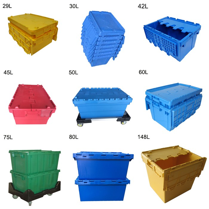 Plastic crate storage tote boxes top manufacturer