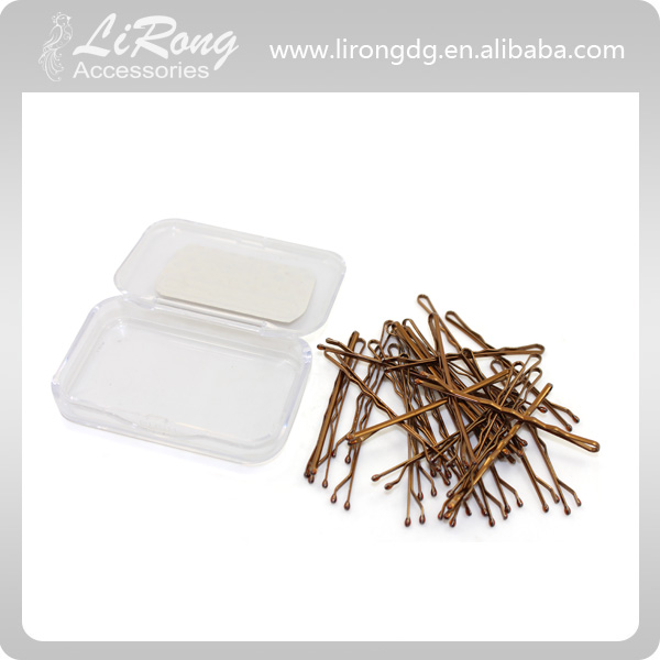 Wholesale woman fancy hair accessory 5CM bobby pin