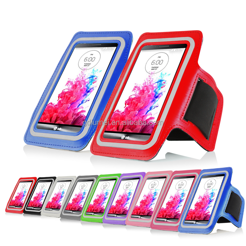 Jogging Gym Fitness Waterproof Arm Band Phone Case for LG G3