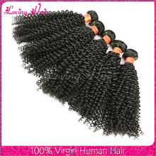 Bouncy kinky curl remy hair wholesale human hair extensions different types of hair curlers