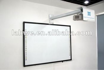 Labwe best selling Interactive Whiteboards 82'' with intelligent anti scratch and jagged line technology for e-learning