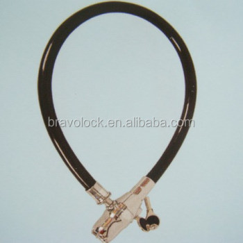 motocycle alarm cable lock 2*80CM