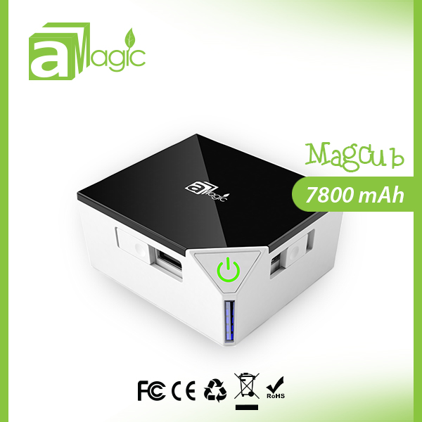 2014 new hot electronic products 7800mah mobile power bank