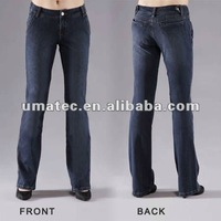 Women's Denim Knitted Jeans