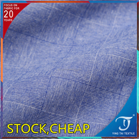 Hotsale!!fashion shirt garment 100% cotton yarn dyed woven shirts fabric latest designs 100 cotton shirt fabric