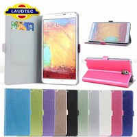 2013 New Arrival Galaxy Note 3 Credit Card Holder Case Wallet Case for Samsung Galaxy Note 3 Cover Laudtec