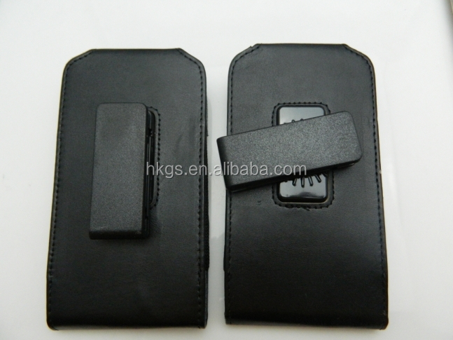 Customize Horizontal Belt Clip Leather Phone Back Cover For Oppo Neo 7 R1201