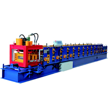 PLC control cold steel c channel metal siding roll forming machine