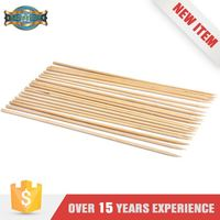 Hot Sales Disposable Thin Flexible Bamboo Meat Skewers Sticks
