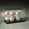 Clear Acrylic Golf Ball Display Box