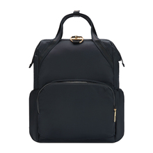 Nylon anti-theft laptop backpack bag