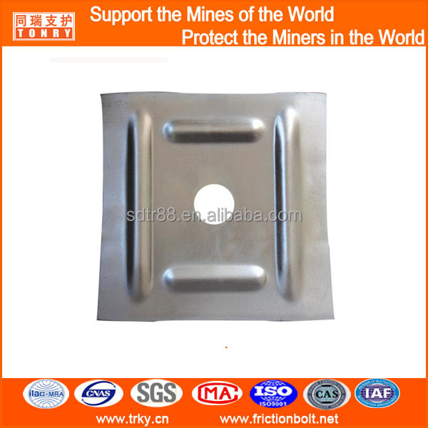 all kinds of rock bolt plate, steel washer