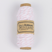 La Ribbons Fashion gift pink cotton craft twine packaging rope