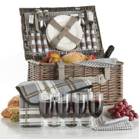 Newest and cheapest Handmade wine bottle wicker baskets/gift baskets for promotional