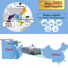 Cheap sea freight forwarder container shipping from china to alexandria port said egypt