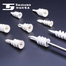 Quality Guarantee Free Sample Shock Resisting Waterproof Hole Pe Expand Nails Wall Plugs