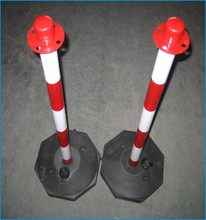 Best Price Flexible PU Warning Bollard / Removable Reflective Delineator Post