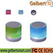 led multimedia mini portable bluetooth speaker with fm radio