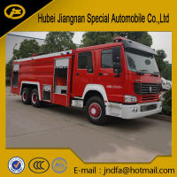 HOWO 6x4 6x6 Water Foam Fire