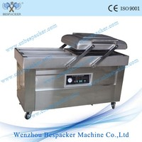 DZ-600/4C Double Chamers 4 Side Sealing Food Dry Fish Fruit And Vegetable Automatic Vacuum Packing Sealer Machine