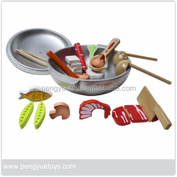 Kitchen Role Play Toys Wooden Pretend Play Toys for kids