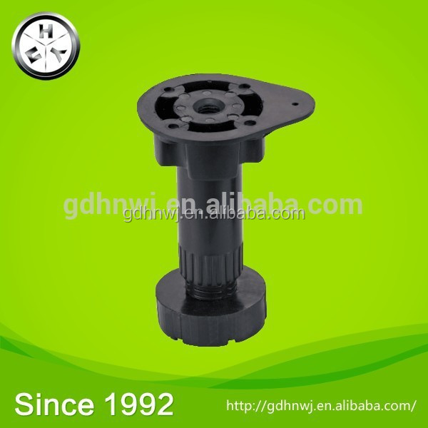 Plastic kitchen adjustable leg adjustable cabinet leveling feet