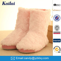 many buyer sell fluffy pink fur home rubber boot
