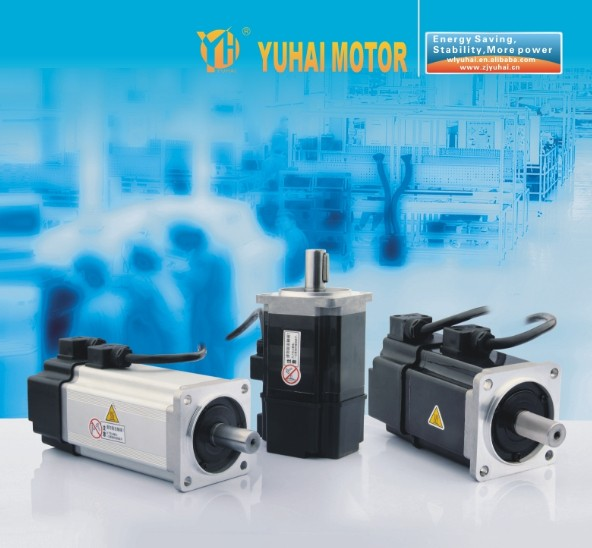 80mm 1.59N.m 500w 3000rpm synchronous permanent magnet ac servo motor prices