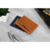 RFID blocking Bifold slim genuine leather thin minimalist front pocket wallets for men made from full grain leather