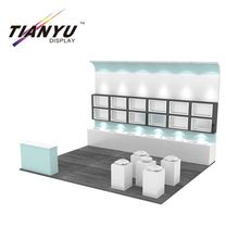 Chinese wholesale aluminum fair assembling without tool changeable exhibition booth fair stand