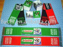 Knitted Football Scarf for EURO 2012 and Fan Scarf and Soccer Scarf