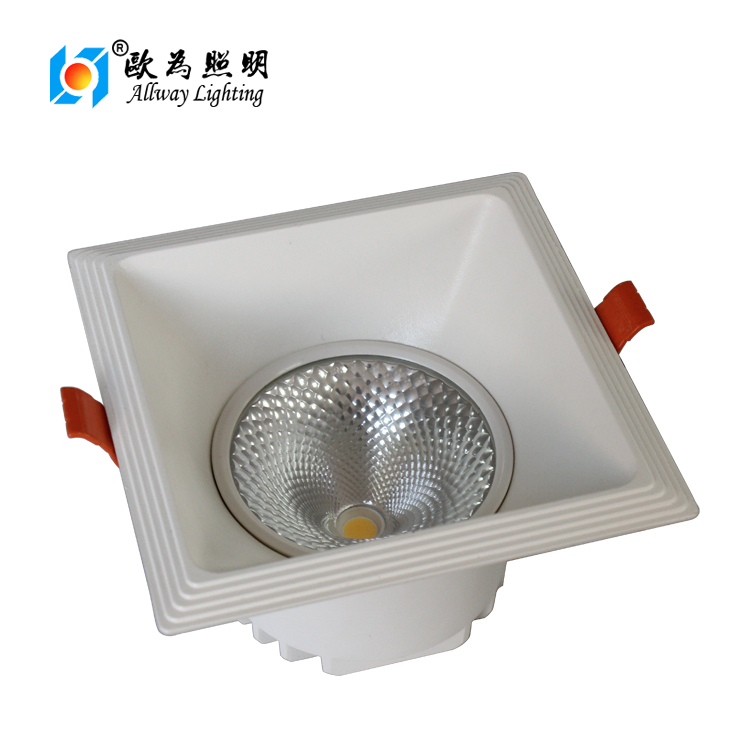 12w 20w 30w cob led downlight housing