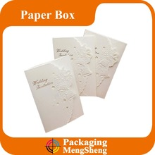 custom laser cut wedding cards/elegant lace invitations/wedding invitation card envelopes