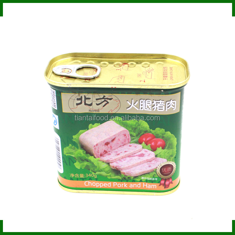 poultry meal bulk canned food mre lunch canned chopped pork and ham
