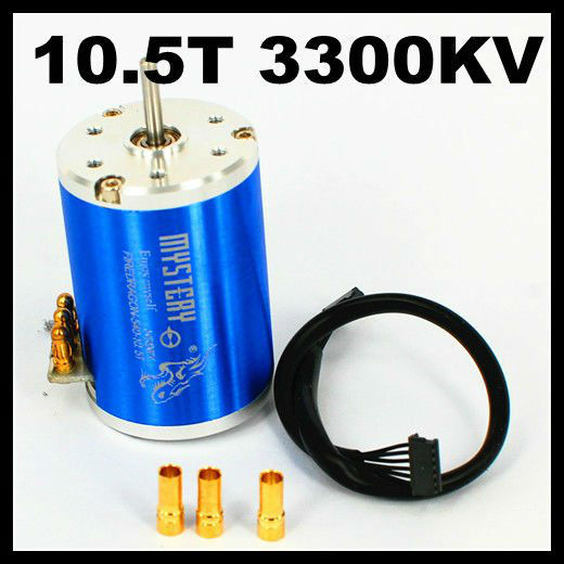 Fire Dragon 3 Chase 2 Poles 10.5T 3300KV 3650 3G2P Sensored Brushless Motor For 1/10 1/12 RC Car