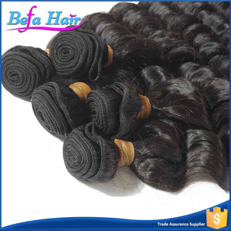 no shed 6a grade cheap virgin malaysian hair deep wave remy hair extensions