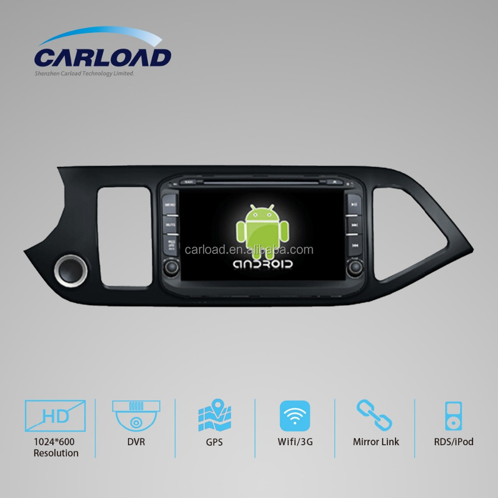 Android 5.1 car dvd player for KIA PICANTO 2014 with